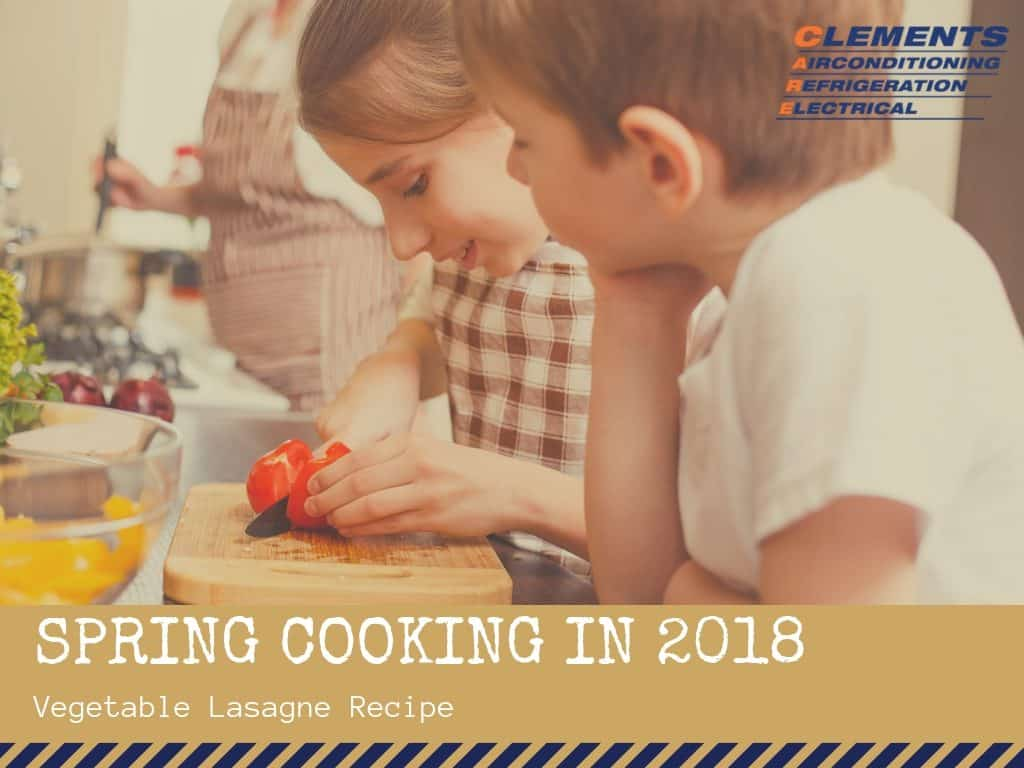 spring cooking in 2018