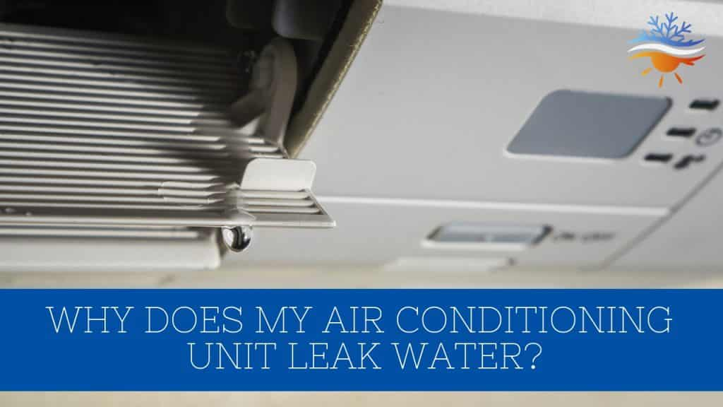leaking air conditioner