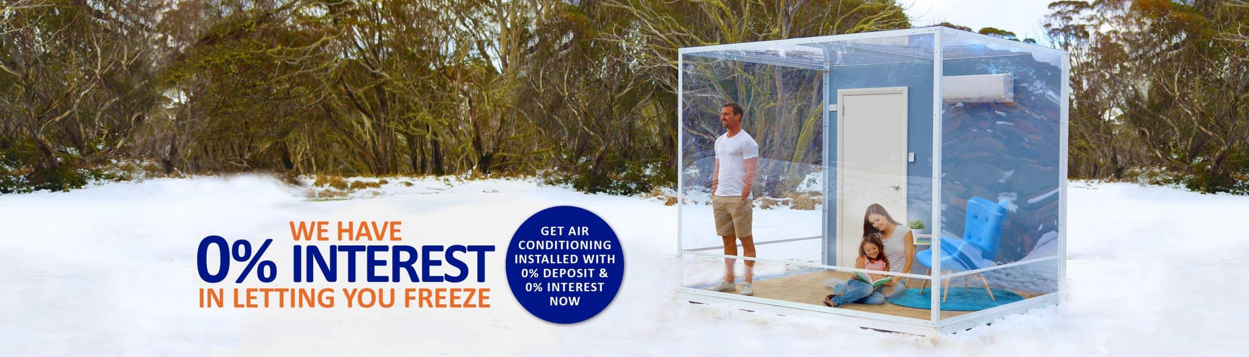 0% Interest 0% deposit Clements Air Conditioner